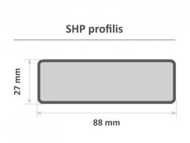PAVYZDYS   Pirties gulto lenta, SHP, 27x88mm 3