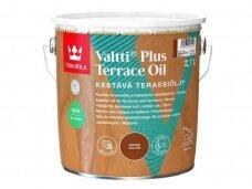 "Terasos aliejus ""Valtti Plus Terrace Oil"", rudas, 2,7L"